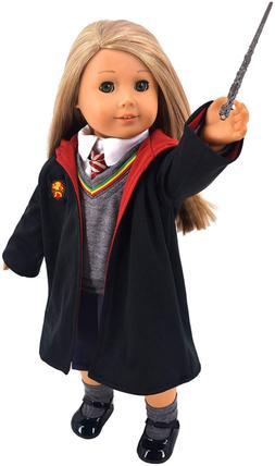 ebuddy Magic School Uniform Inspired Doll Clothes for Americ