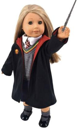 "ebuddy Magic School Uniform Inspired Doll Clothes For 18"" Do"