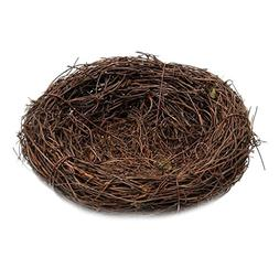 MagiDeal VARIOUS Sizes Natural Vine Bird Nest Doll House Min