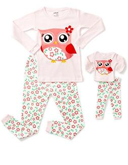 DinoDee Matching Doll Owl Pajama 8 Years