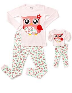 DinoDee Matching Doll Owl Pajama 5 Years