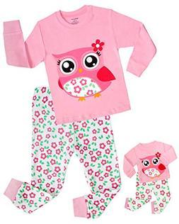 Babyroom Girls Matching Doll&Toddler Reindeer 4 Piece Cotton