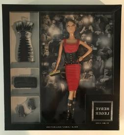 MINT HERVE LEGER BARBIE DOLL GOLD LABEL COLLECTION MIB IN OR