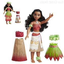 Disney Moana Island Fashions 10 inches Doll 9 fashion pieces