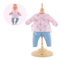 "Corolle Mon Grand Poupon 14"" Blouse & Pants Toy Baby Doll"