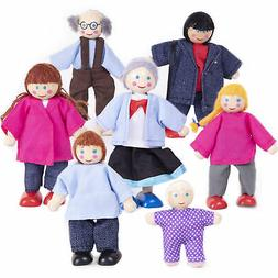 My Doll Family - Wooden Cloth Dolls