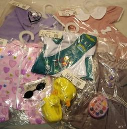 "New 18"" Play Doll Clothing and Accessories Lot #29 fits 18"""