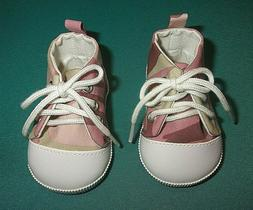 """NEW ADORA 20"""" TODDLER OR BABY GIRL PINK CAMO SNEAKERS SHOES"""