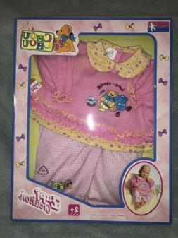 NEW Doll Outfit Clothes Zapf Creation Baby doll Chou Chou  o