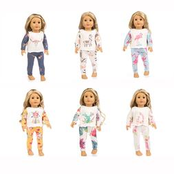New Fashion pajamas Fit for <font><b>American</b></font> <fo