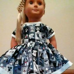 NEW GENERATION DOLL CLOTHES DOGS DRESS FITS 18 INCH DOLLS