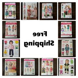 new sewing pattern for 18 inches doll