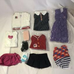 New Zita Element Doll Clothes, American Girl Lot Of 11