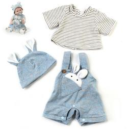 Newborn Baby Clothes for 20 inch Reborn Baby Doll Adorable S
