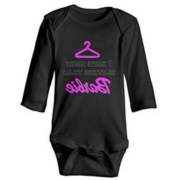 NBTZ ZX Newborn Baby Popular Bodysuit I Have More Clothes Lo