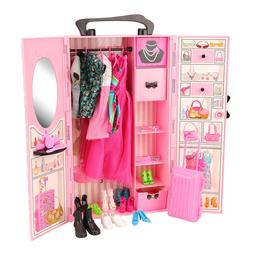 Newest fashion handmade high quality 44 items dollhouse acce