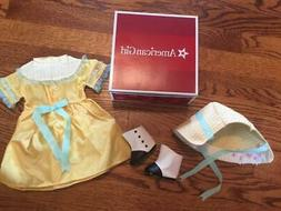 NIB AMERICAN GIRL DOLL CECILE'S SUMMER OUTFIT DRESS RETIRED