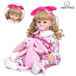 NPK Reborn Baby Doll Life Like Huggable Silicone Toddler Gir