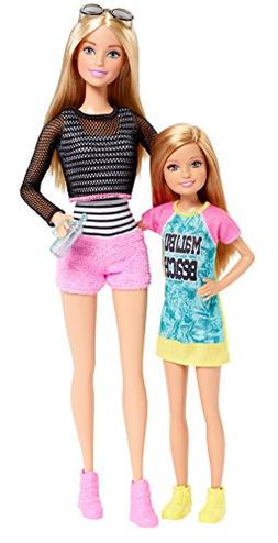 NRFB Barbie Sisters Barbie and Skipper 2-Pack #DGX42