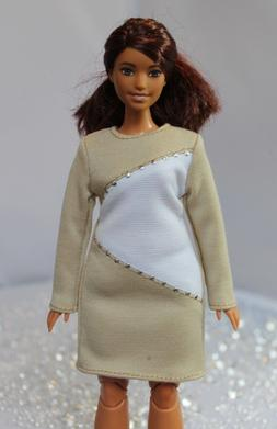 Dress for Dolls №201 Clothes for Curvy Barbie Doll