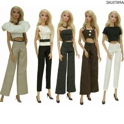 """Office Lady Fashion Clothes Set for 11.5"""" Doll Outfits 1/6 D"""
