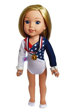 Brittany's My Olympic Gymnastics Compatible with Wellie Wish