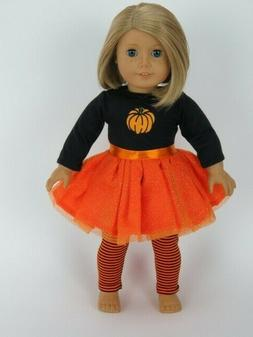 orange halloween pumpkin costume for 18 american