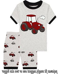 Babyroom Boys Pajamas Toddler Snug Fit Pjs Summer Crocodile