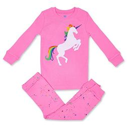 Girls Pajamas Unicorn Pegasus Lips 2 Piece 100% Super Soft C