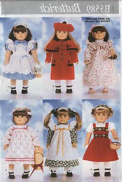 "Butterick Pattern 18"" Doll Clothes"