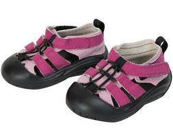 """Pink & Black Hiking Sandals For 18"""" American Girl Doll Cloth"""