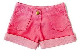 Pink Cuffed Shorts made for 18 inch American Girl Doll Cloth