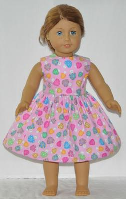 Pink Happy Smiling Mushroom Doll Dress Clothes Fits American