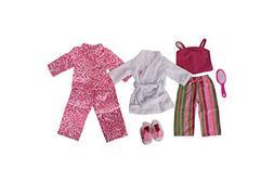 PJ Bundle -- 5 Items: Springfield- Striped Pajamas, Springfi