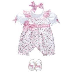 "Adora ""Playful Picnic Romper Dress Clothes Outfit Set Pack f"