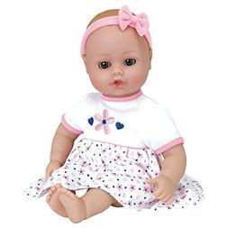 "Adora PlayTime Baby ""Petal Pink"" 13 inch Vinyl Girl Baby Dol"