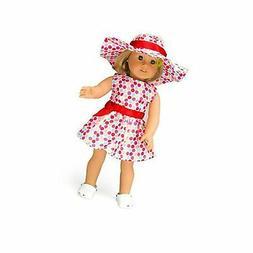"Polka Dot Sun Dress Doll Clothes for 18"" Dolls -"