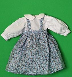 Porcelain Doll Coton Dress Collar W. 5 cm, Shoulder W. 9 cm,