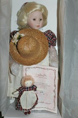 "Porcelain Doll ""Daisy"" by Artist Pauline Bjonness-Jacobsen L"