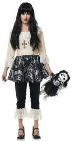 Psycho Doll Scary Gothic Girl Toy Fancy Dress Up Halloween D