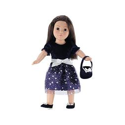 Emily Rose Doll Clothes 18 Inch Doll Clothes | Vibrant Purpl