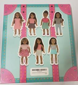 PZAS Toys 7 Outfit Set, 18 Inch Doll Clothes, Compatible wit