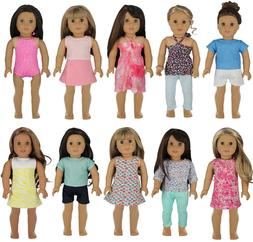 PZAS Toys Doll Clothes for American Girl - Wardrobe Makeover