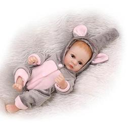 Pinky 26cm 10 Inch Realistic Miniature Soft Silicone Dolls F