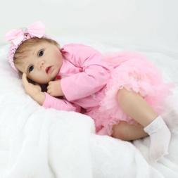 "Reborn Baby Dolls Toddler Newborn 22"" Vinyl Silicone Girl Do"
