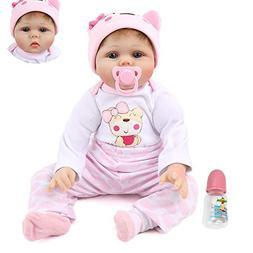 Kaydora 22 inch Realistic Reborn Baby Dolls Handmade Soft Vi