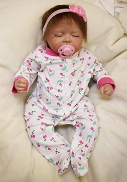 "MaiDe Reborn Baby Dolls 20"" Cute Realistic Soft Silicone Vin"