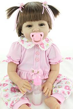 """Ocsdoll Maide Reborn Baby Dolls 22/"""" Cute Realistic Soft Silicone Vinyl Dolls"""