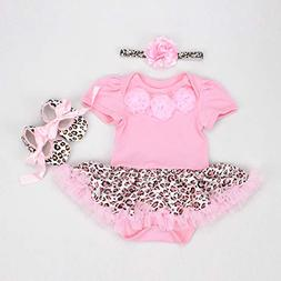 NPK collection Reborn Baby Doll Clothes Outfit for 20-23 Inc