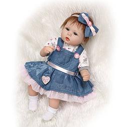 NPK Reborn Baby Doll Soft Silicone Vinyl 17 inch Lifelike Ba